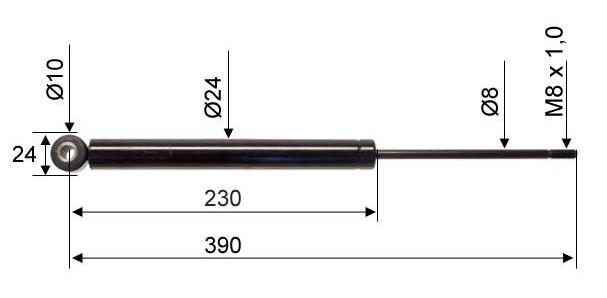Амортисьор 120SR-A схема